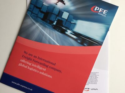 What do the accreditations on the back of the new PFE brochure mean for you?